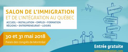 Salon de l'immigration et de l'intégration au Québec !