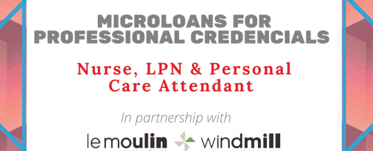 Microloans for Professional Credentials